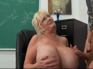 Highschool student fucking his mature teacher