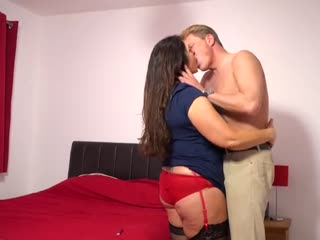 Firm 50 year old having sex with her toyboy