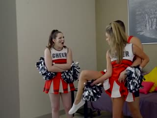 Cheerleader training