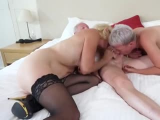 wife has threesome with elderly couple