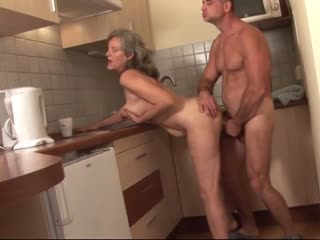 Grandma gets to see all corners of the kitchen